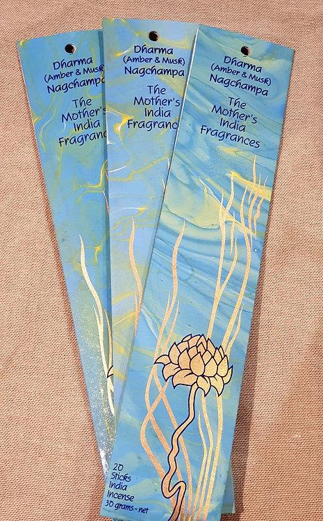 Mothers fragrance Incense - Dharma Nagchampa