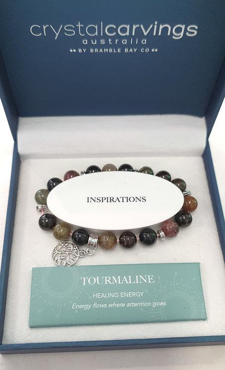 Tourmaline Tree of Life Bracelet