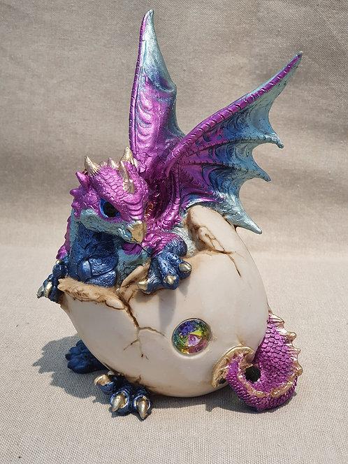 Dragon in egg fugurine