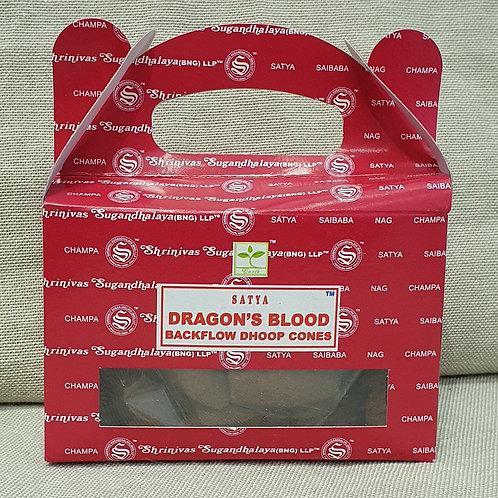 Dragons blood Backflow cones 24 pack