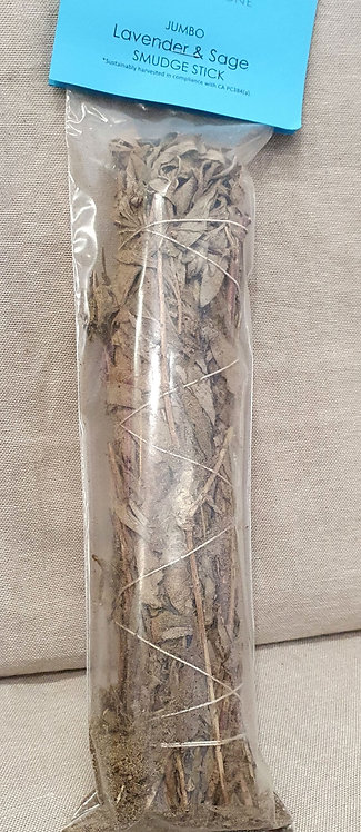 Sage and lavender Smudge stick Large