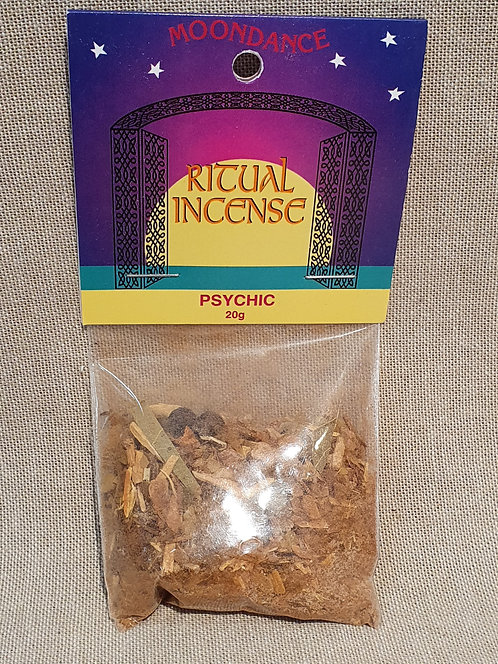 Psychic ritual incense