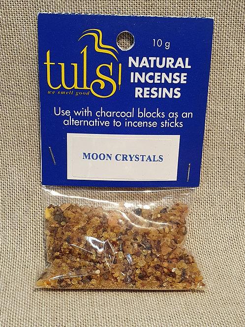 Moon crystals resin