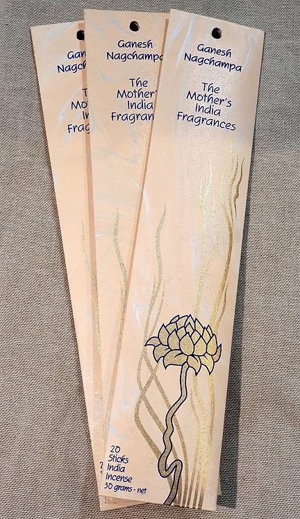 Mothers fragrance Incense - Ganesh nagchampa