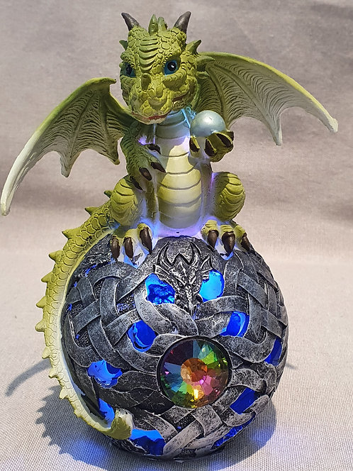Dragon LED light up fugurine