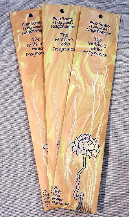 Mothers fragrance Incense - Palo Santo