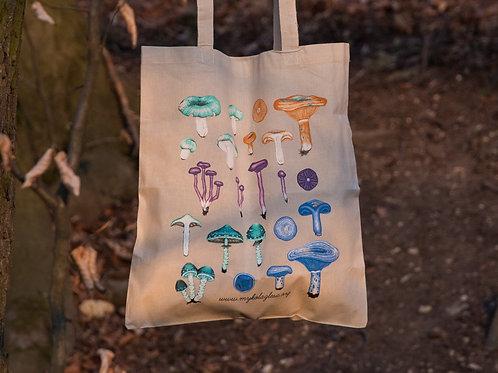 Bavlněná taška - Lupenaté
