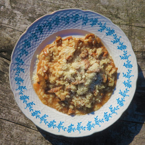Risotto s ryzci