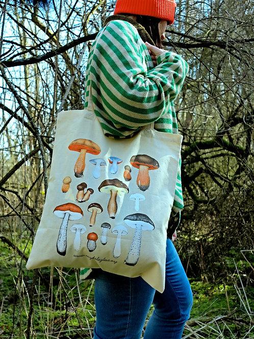 Bavlněná taška - hřibovité