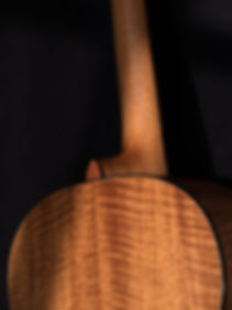 Red Mountain Cedar guitar by Daniel Hoban