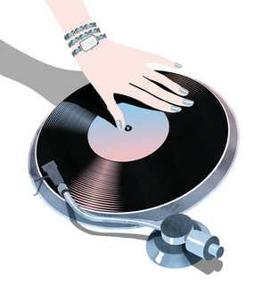 Vinyl montre Première Rock
