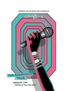 Affiche montre Première pop rock
