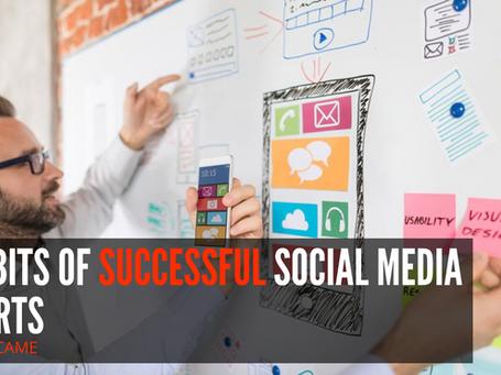 6 Habits of successful Social media experts