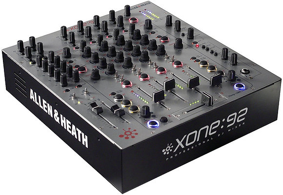 Rental - Allen & Heath Xone:92 4 Channel DJ Mixer