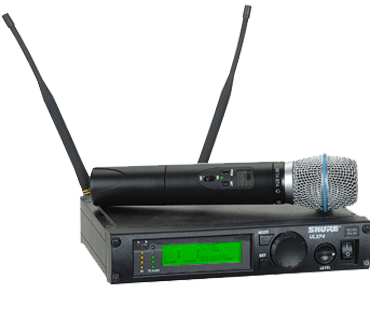 Rental - Shure ULXP4 Wireless System w BETA 87A Handheld Microphone
