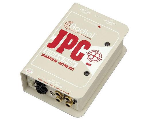 Rental - Radial JPC Stereo PC Direct Box