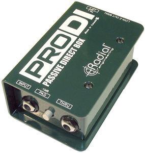 Rental - Radial ProDI Mono Direct Box