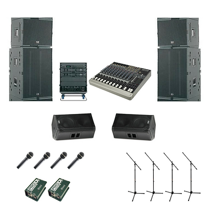 Rental - Concert Line Array Package 1