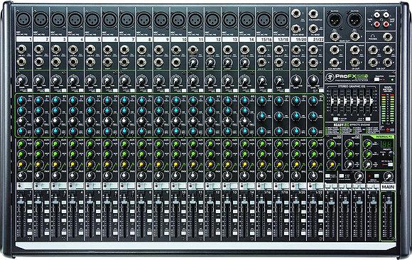 Rental - Mackie ProFX22v2 22 Channel (16 Mic) Analog Mixer w FX