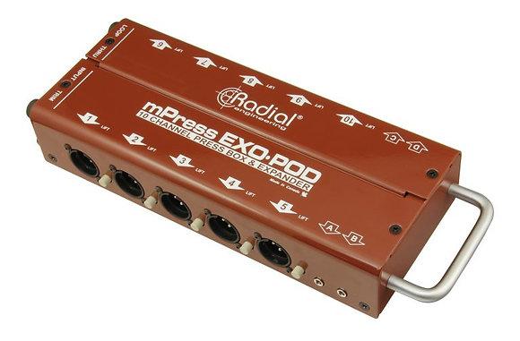 Rental - Radial Exo-Pod 10 Channel Press Box