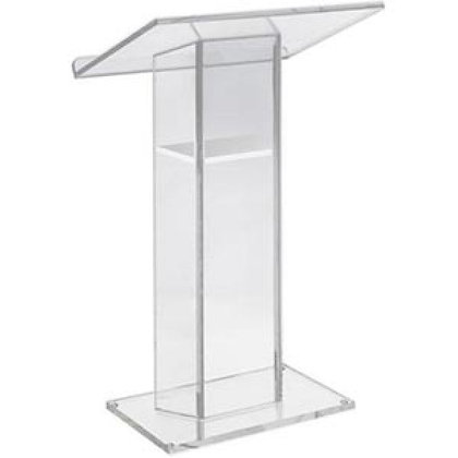 Rental - Lucite Podium, Medium