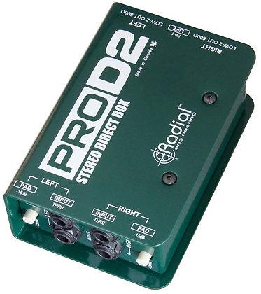 Rental - Radial ProD2 Stereo Direct Box