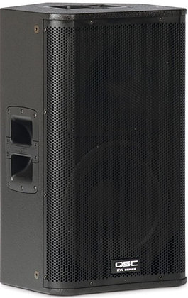 "Rental - QSC KW122 12"" 1000W 2-Way Main or Monitor Speaker"
