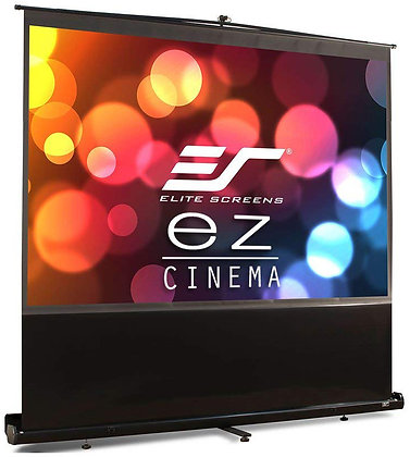 "Rental - Elite Screens 120"" diag (8' wide) ezCinema Projection Screen"