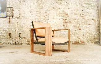 Kubrix ébéniste Lille noyer fauteuil design