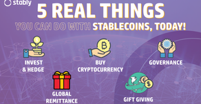 5 Real Things You Can Do with Stablecoins, Today!