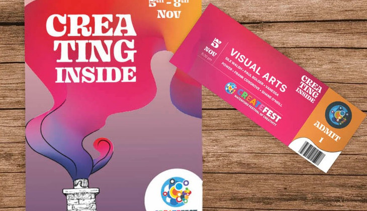Createfest program and ticket