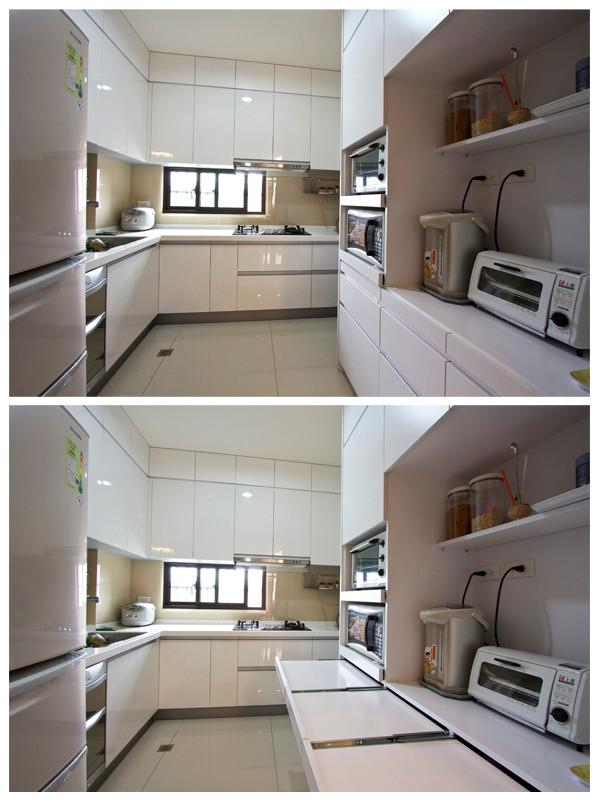 廚房-可延展綜合電器櫃