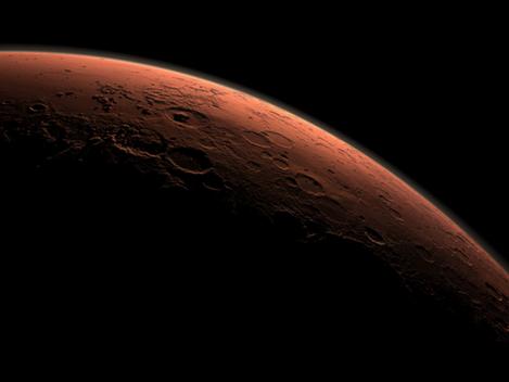 El sueño en Marte