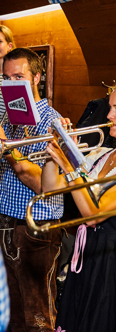 Brass Bands at the Octoberfest Pub