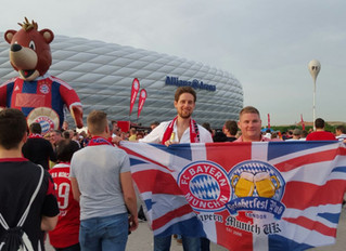 """""""A Bavarian Football Oasis in The English Capital"""""""