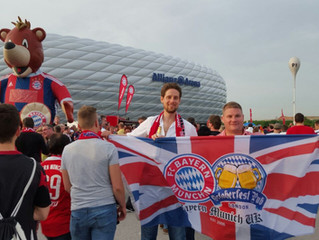 """A Bavarian Football Oasis in The English Capital"""