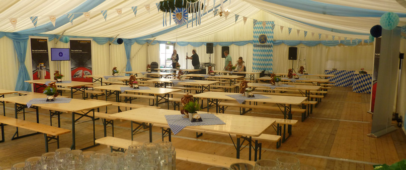 Outdoor events for up to 500 guests
