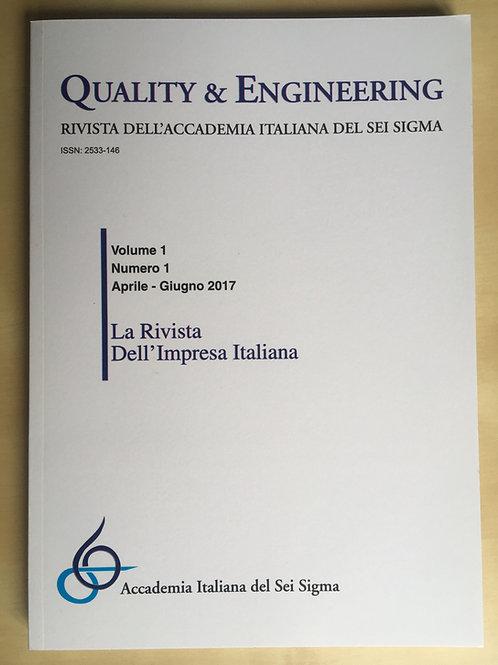 """Arretrati della Rivista """"Quality & Engineering"""""""