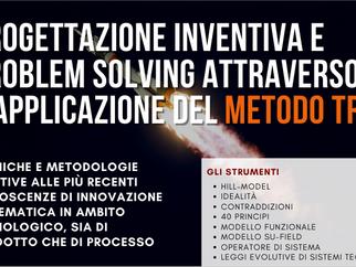 Corso di Progettazione Inventiva e Problem Solving attraverso il METODO TRIZ