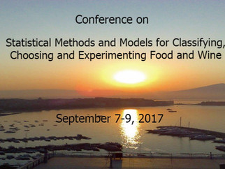 "Conferenza ""Statistical Methods and Models for Classifying, Choosing and Experimenting Food and"