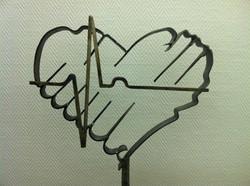 Logo geschmiedet