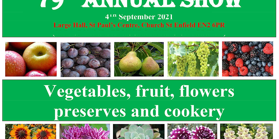 Grange Park Horticultural Society 79th Annual Show