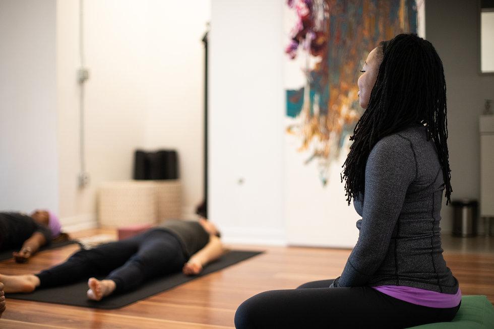 haven yoga studio class