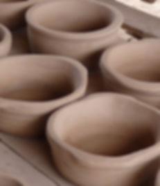 Poterie pendant le stag de poterie ouver à tout le monde