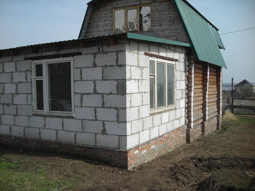 пристроить комнату к дому из пеноблоков