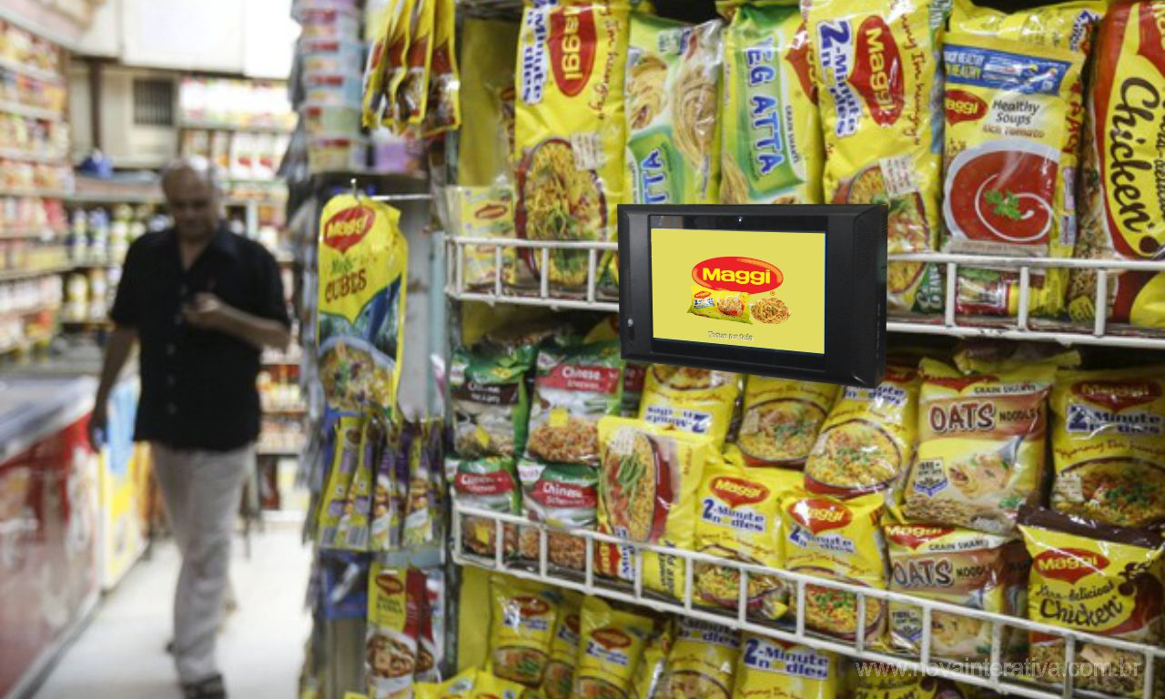 Display Touch Screen com Sensor para PDV Maggi
