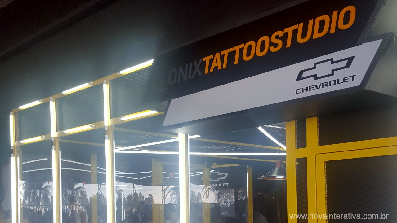 CHEVROLET ONIX TATTOO STUDIO
