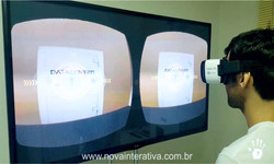 Óculos Realidade Virtual Data Center
