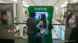Totem touch screen - Metro