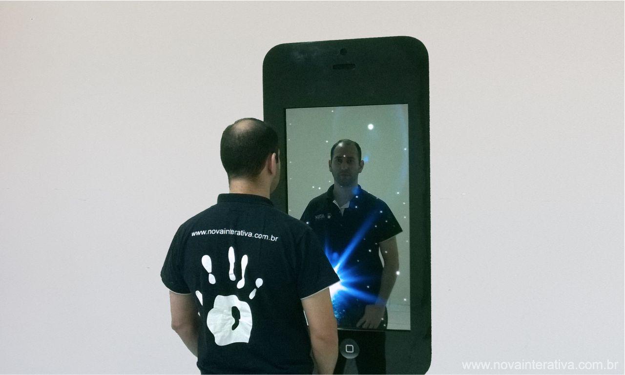 Espelho Fotográfico Touch Screen